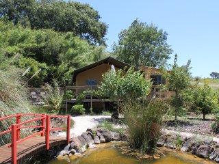 Quinta Japonesa - Casa de Cha, Glamping Safaritent 2-4p