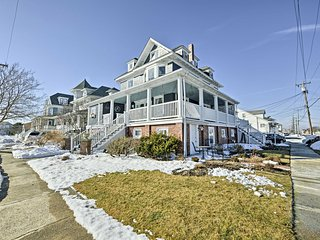 NEW! 8BR House in North Wildwood - Walk to Beach!