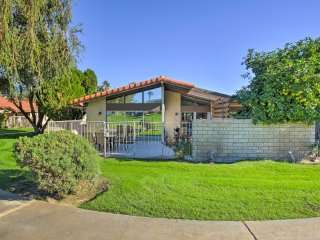 NEW! 3BR Condo on Golf Course - Walk to Coachella!