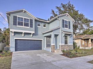 NEW! Modern 4BR Tampa House 2 Miles From Downtown!