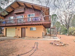 NEW! 2BR Payson Home Near Tonto w/Deck & Game Room