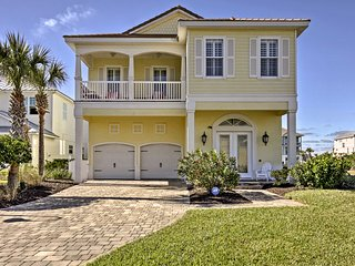 Luxury Waterfront Home Steps to Cinnamon Beach!