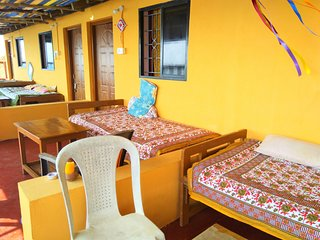 #401 Quiet And Relaxing Stay Near Arambol Beach