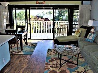Acacia wood floors.