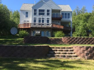 New! One of a kind! Wasilla Lake Home Private Floor that walks out to the lake