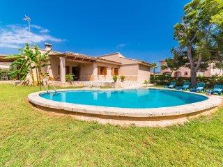 Sa Coma Holiday Home Sleeps 6 with Pool and WiFi - 5503249