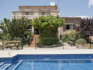 5 bedroom Villa in Cas Concos, Balearic Islands, Spain : ref 5251841