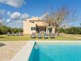 Finca Sa Pau Campos family Villa with Pool