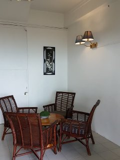 Entrance lounge of the Guesthouse.