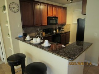 Get comfort and convenience at this Bella Piazza 4/3 Condo. Fully furnished