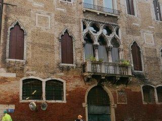 Palazzo Cavazza Foscari Mocenigo dalle Zogie