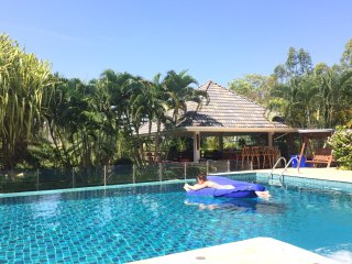 Self catering villa with pool,ample pool terrace,expansive living & dining areas