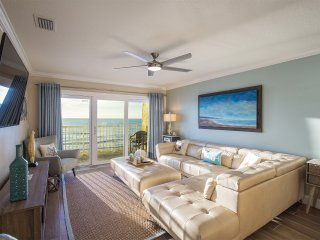 JUST COMPLETED RENOVATION FROM TOP TO BOTTOM! Luxury 3BED/2BATH Beachfront Condo