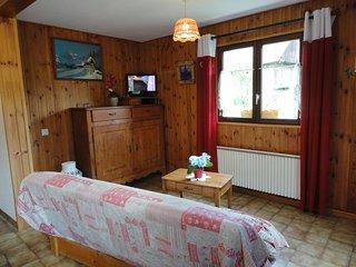 maison dans village savoyard en station de 2 à 7 pers