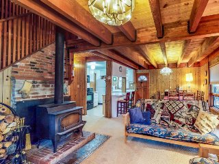 Cozy, family-friendly cabin near the slopes - enjoy spectacular starry skies!