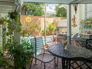 Enjoy a shared pool & a great location at this main-floor bed & breakfast suite!
