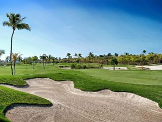 5+* OCEAN FRONT * GOLF COURSE *SLEEPS 6* GATED RESORT