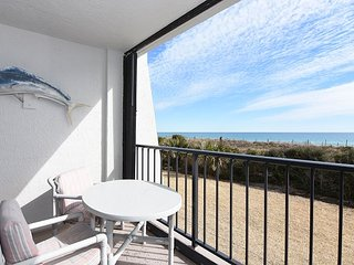 Station One - 1D Seascape-Oceanfront condo with community pool, tennis, beach