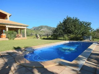 Finca in Selva (Mallorca- Serra Tramuntana) 8 people, 4 bedrooms. Private pool.