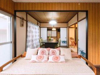 Mountain View House, Walk to Kiyomizu, Car parking, Sleeps 5