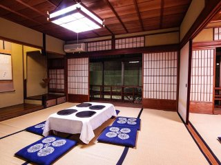 Japanese Ryokan in famous area in Ishibekoji
