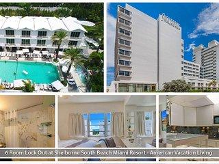 6 Rm Lock-Out at Shelborne South Beach Miami Resor