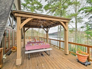 NEW! 5BR Smoky Mountains Home on Lake Glenville!