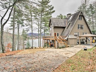 NEW! Lakefront Cashiers Home-Private Dock & Beach