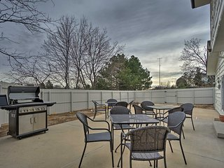 Colorado Springs Home w/ Big Patio in the Bluffs!