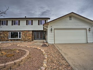 NEW! 6BR Colorado Springs Home in the Bluffs!