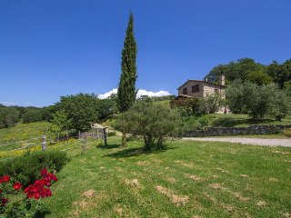 1 bedroom Villa in Montorgiali, Tuscany, Italy : ref 5477379