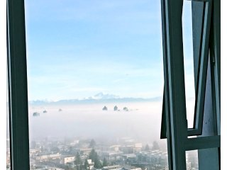 Above the cloud, Brandnew mordern luxuries condo by metrotown