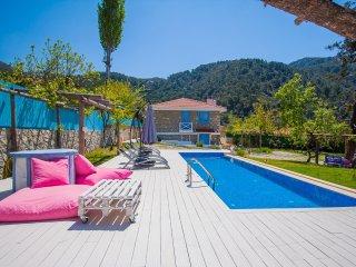 Romantic Secluded Village House Conversion Villa, Large Garden & Pool
