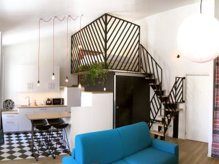 loft design et lumineux, 40m2, Palais Longchamp