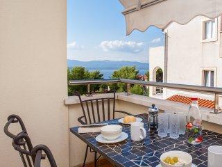 Senka mazuranic apt . 1BR•3min center&beach•balcony•sea view•pick up