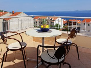 Perla 14 - Great view app for 4•balcony•sea view•parking•breakfast