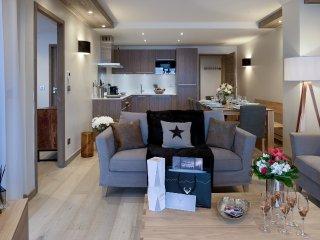 Le C - A07 - Appartement neuf pour 8 invités situé dans résidence neuve avec Spa