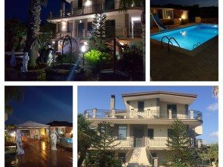 Villa Alba con piscina immersa nel verde