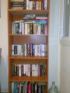 Holiday readers can take advantage of our small library where you can swap books or just choose one