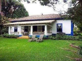Sede histórica da Fazenda Lageado.
