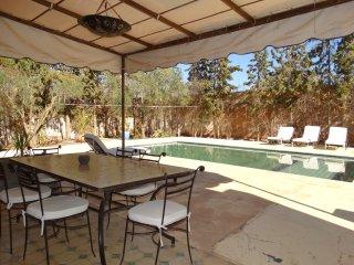 location de vacance ,une villa privée de 3 CH,Salon, Cuisine,SDB,Piscine ,jardin
