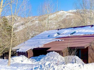 Spring Ski Sale! Dog Friendly on River/Open Space, Bus, Quiet, Views, Remodeled