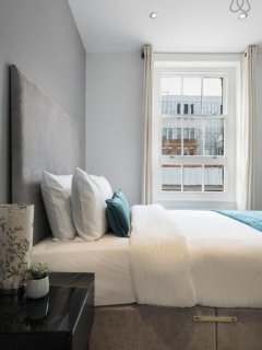 Large bright bedroom two