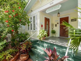 Plan for a romantic escape at this adorable rental w/ shared pool and courtyard