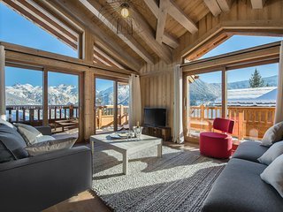 Chalet Ancolie - Unique views on the Mountain Peaks