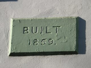 Our little house is almost 160 years old!