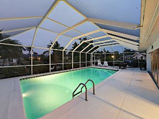 3BR Waterfront Home w/Private Pool & Dock in Southeast Cape Coral