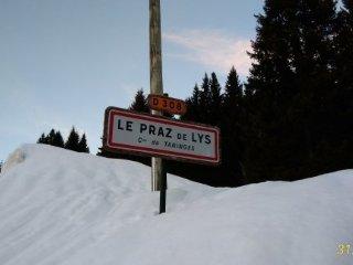 Location studio 20m² 4 personnes max. à la station de Praz de Lys / Sommand