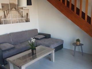 Tres bel appartement en Duplex vue mer pour 6 personnes