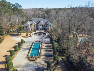 Luxurious Gated Buckhead Mansion